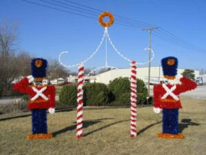 Toy Soldier Holiday Displays