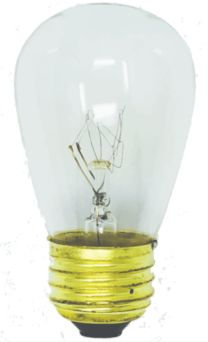 Incandescent Patio Bulb