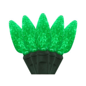 LED GREEN CHRISTMAS LIGHTS
