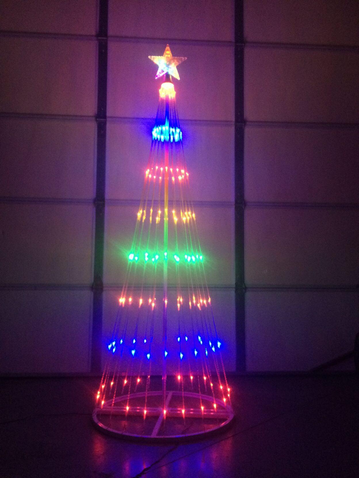Led Multi Colored Light Show Tree