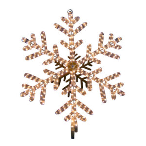 40 POINT LED SNOWFLAKE