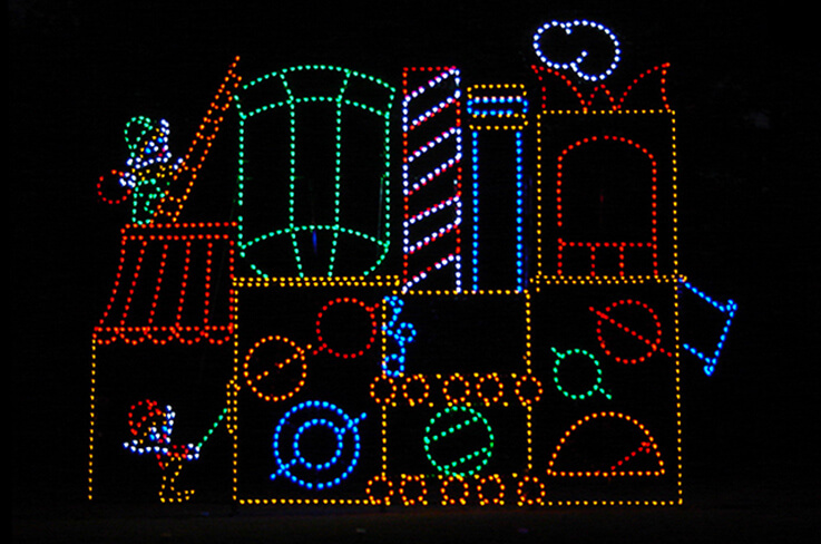 A Guide to Designing Holiday Light Displays from Creative Displays