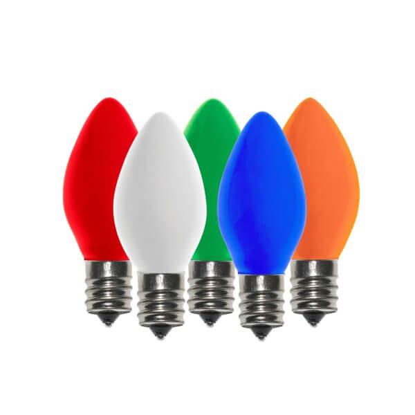 Decorating Tips for c7 Christmas Light Bulbs