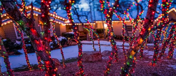 Residential Holiday Lights