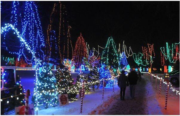 Mankato Holiday Light Display