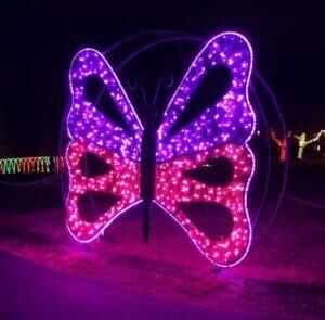 PVC Mesh Butterfly