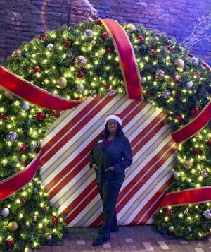 wreath arch