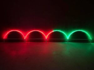 RGB Leaping Arches