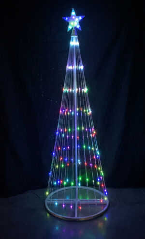 RGB LED Light Show Tree